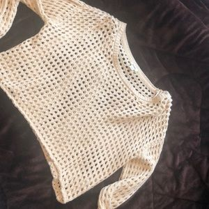 Mesh crop top from Garage ... Brand new